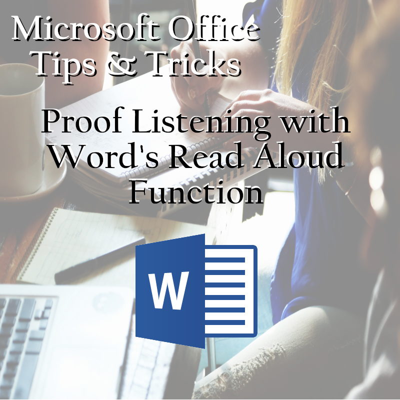 NTELogic.com | Word's Read Aloud function is found on the Review tab of the Ribbon